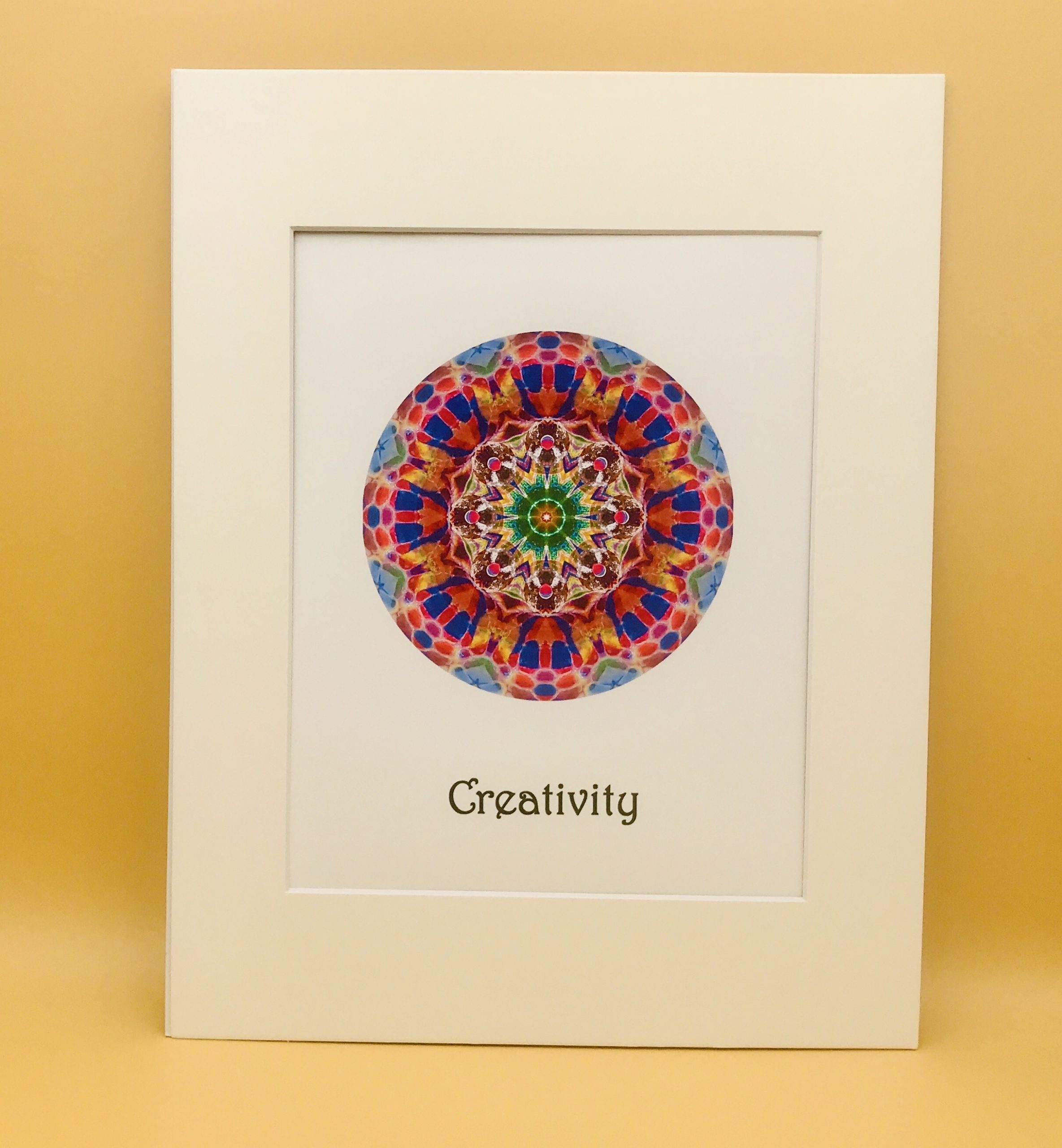 Creativity and Children Mandala Print