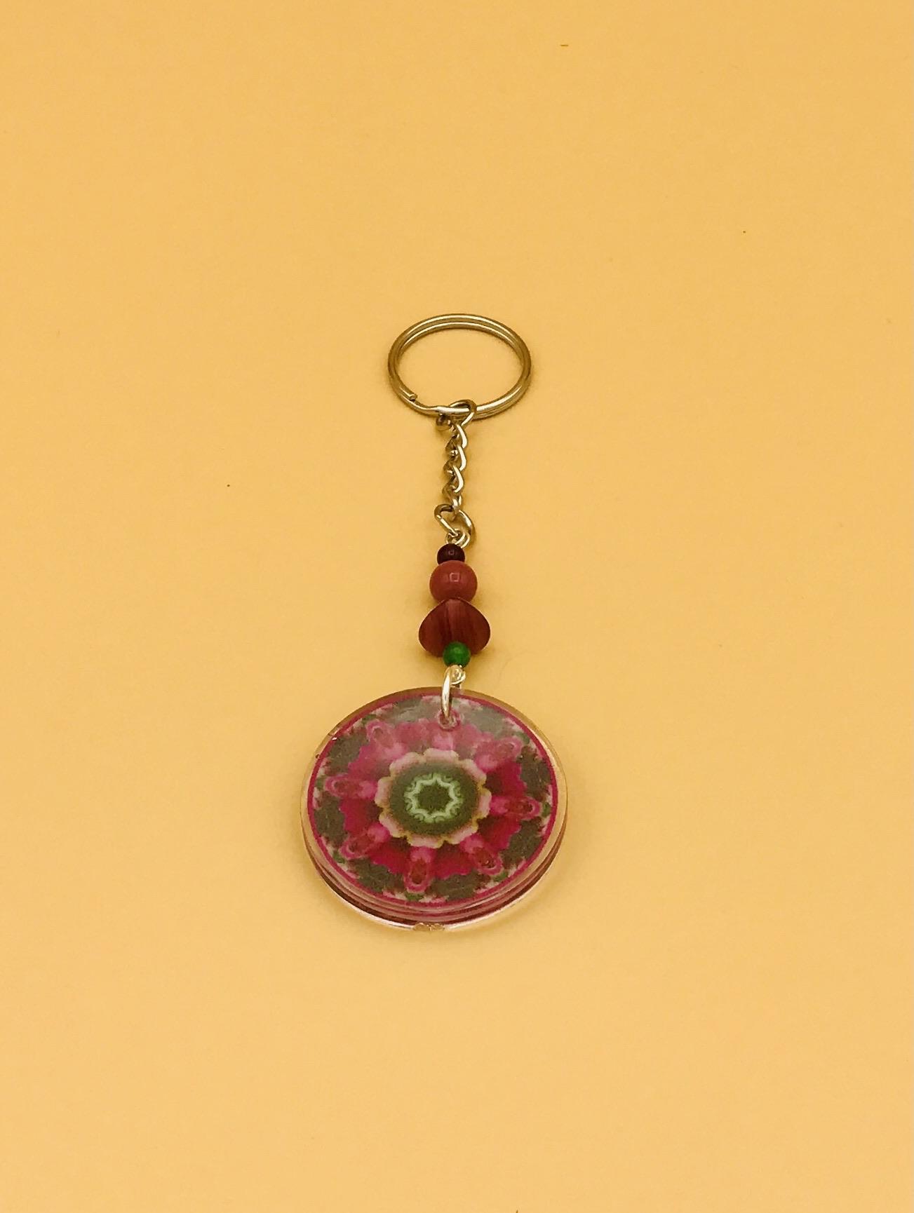 Love Mandala Keychain