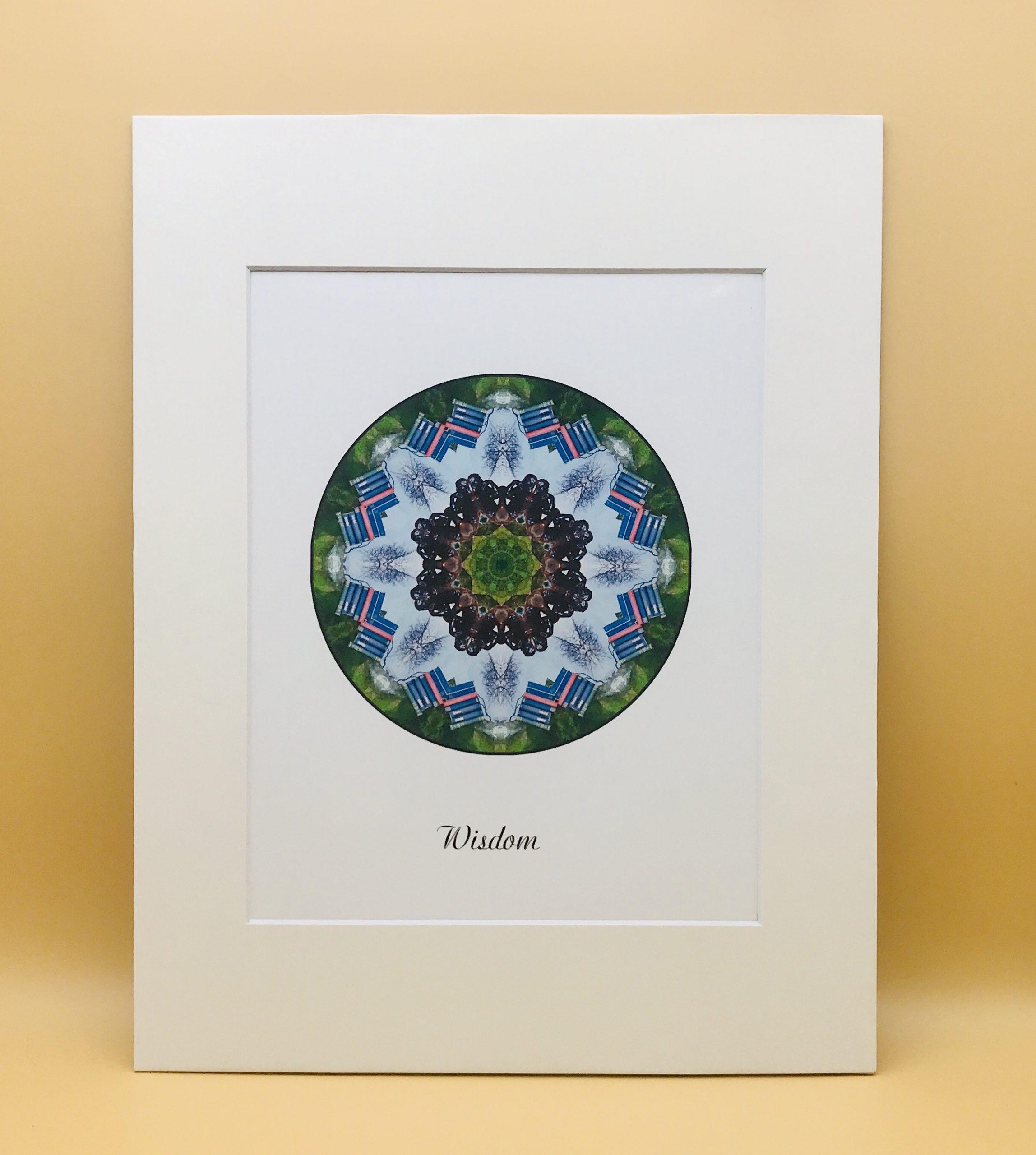 Wisdom Mandala Print