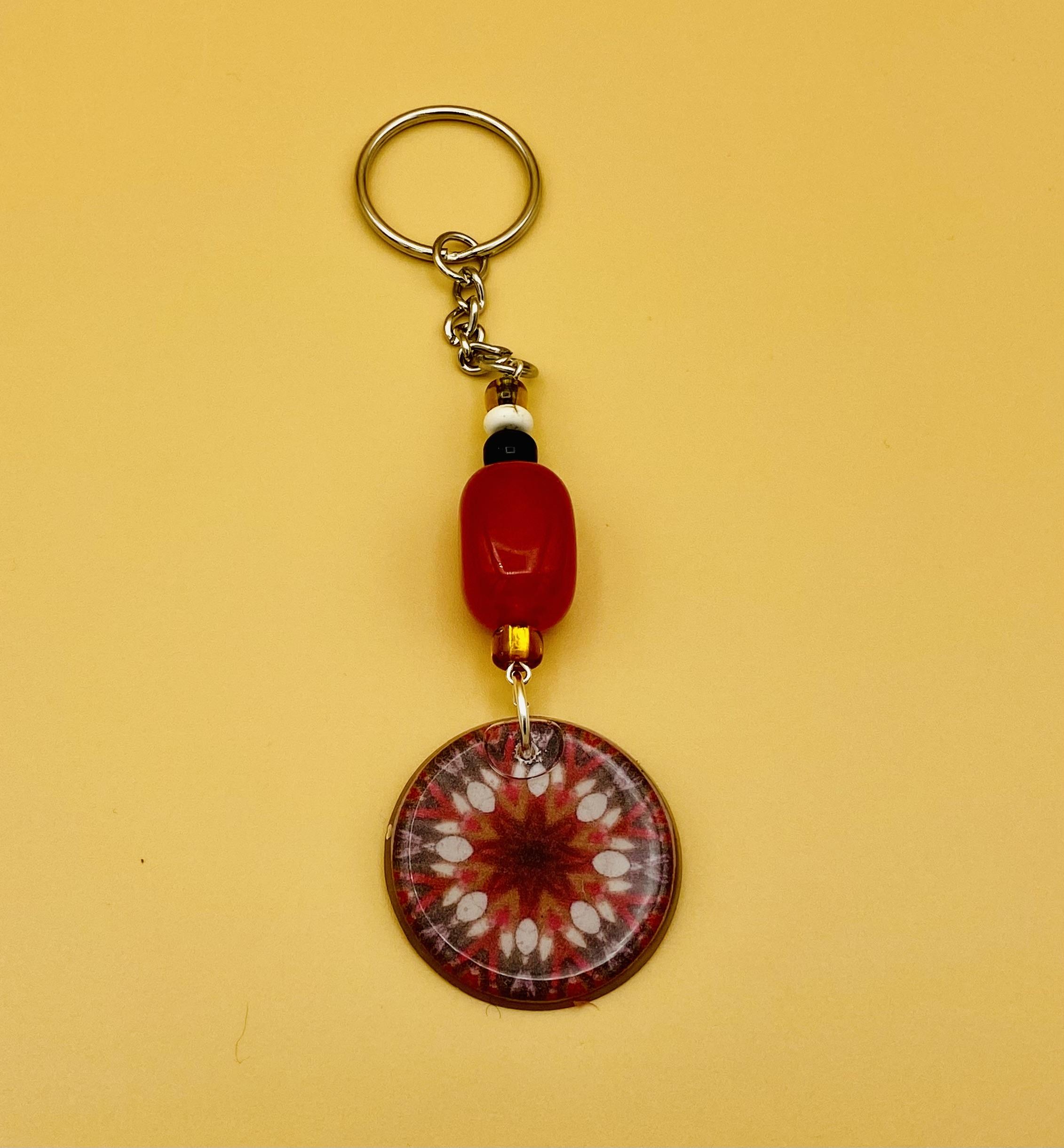 Fame Mandala Keychain