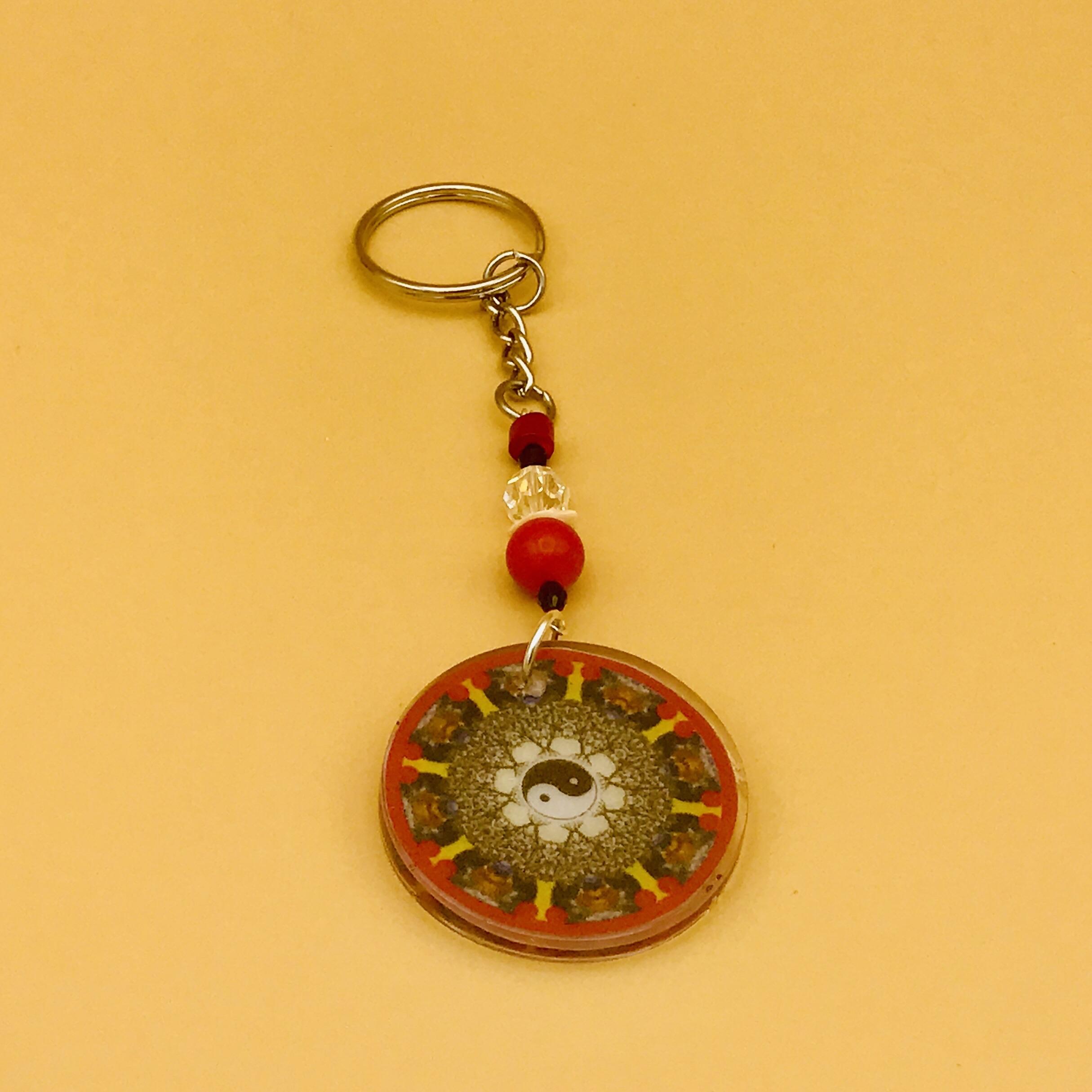 Health Mandala Keychain