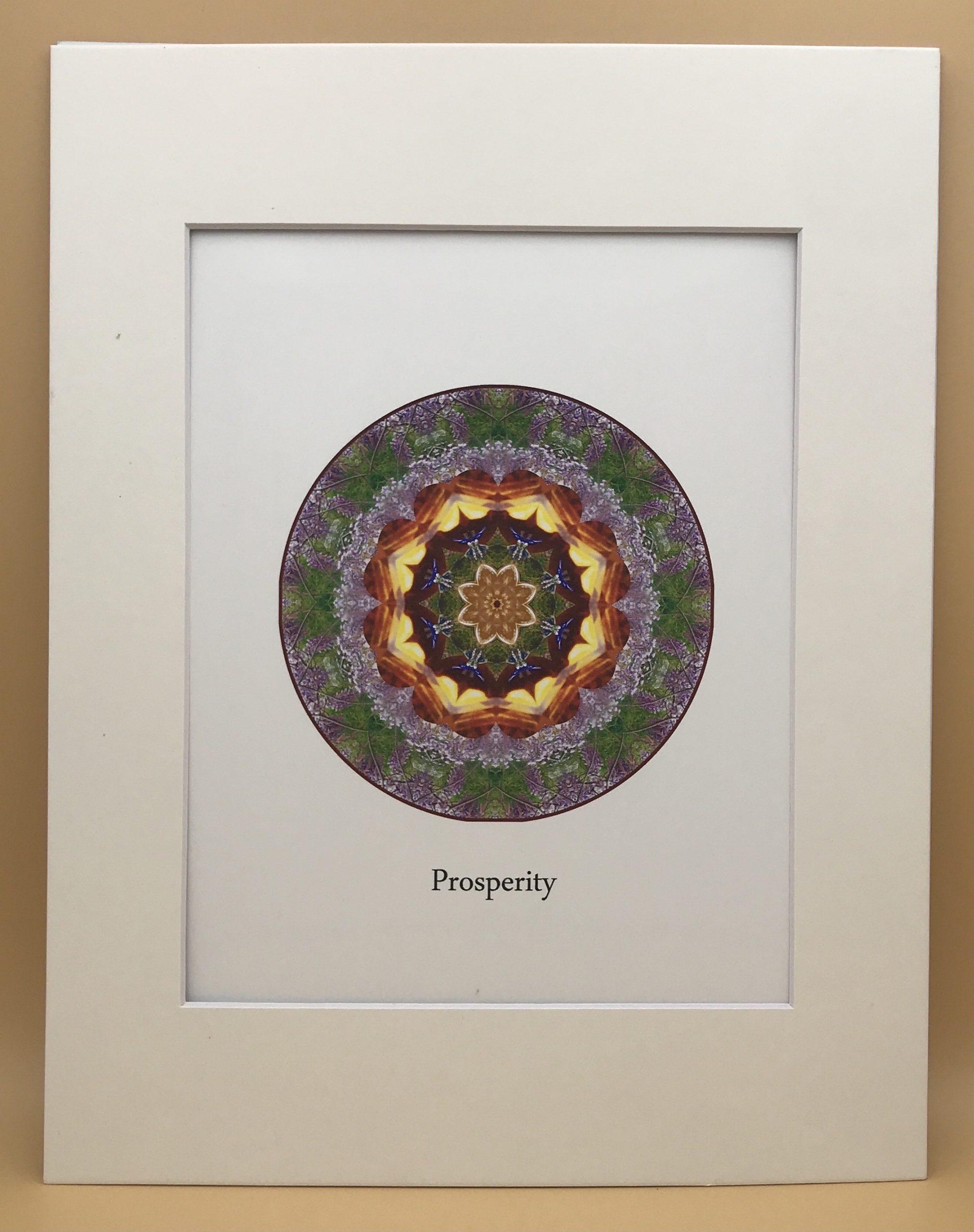 Prosperity Mandala Print