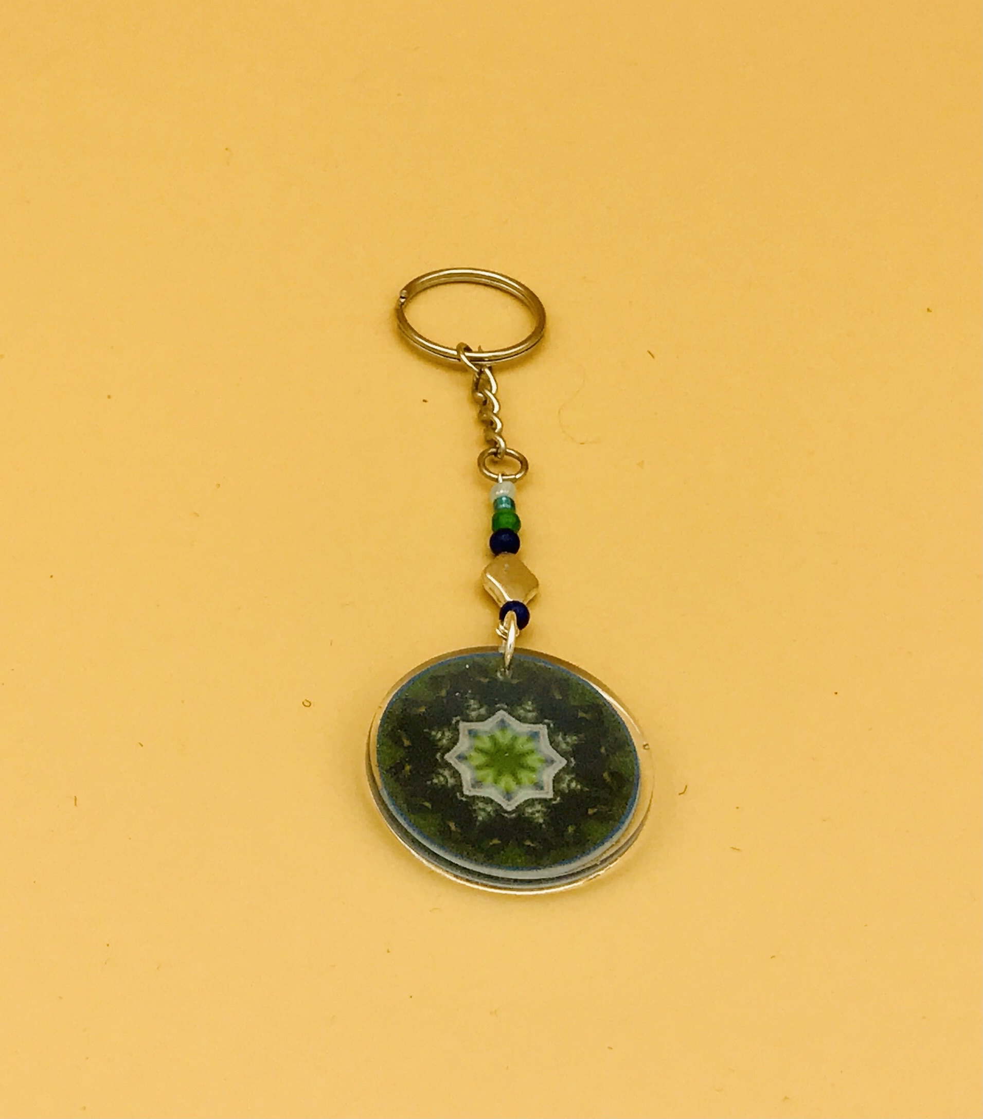 Success Mandala Keychain
