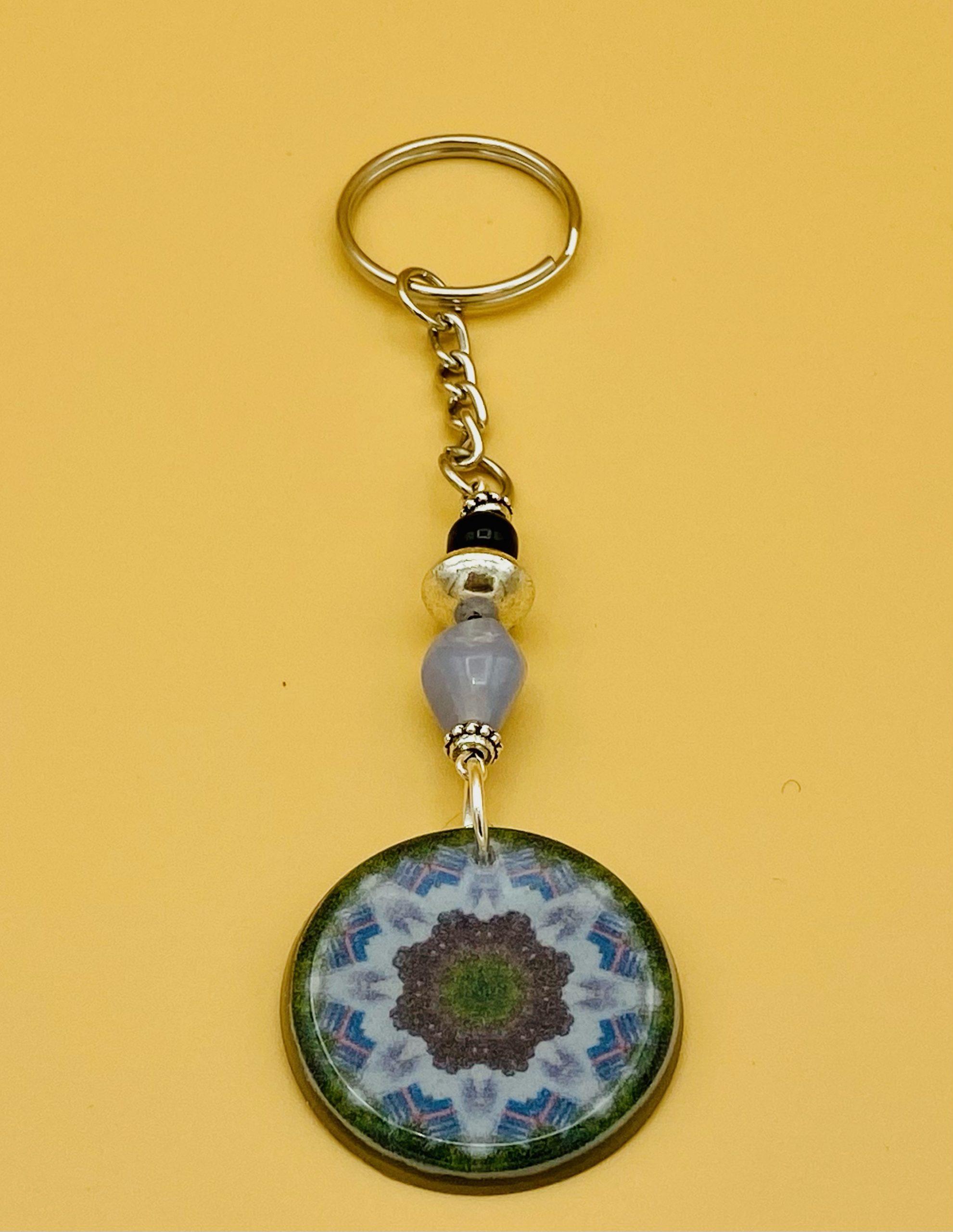 Wisdom Mandala Keychain