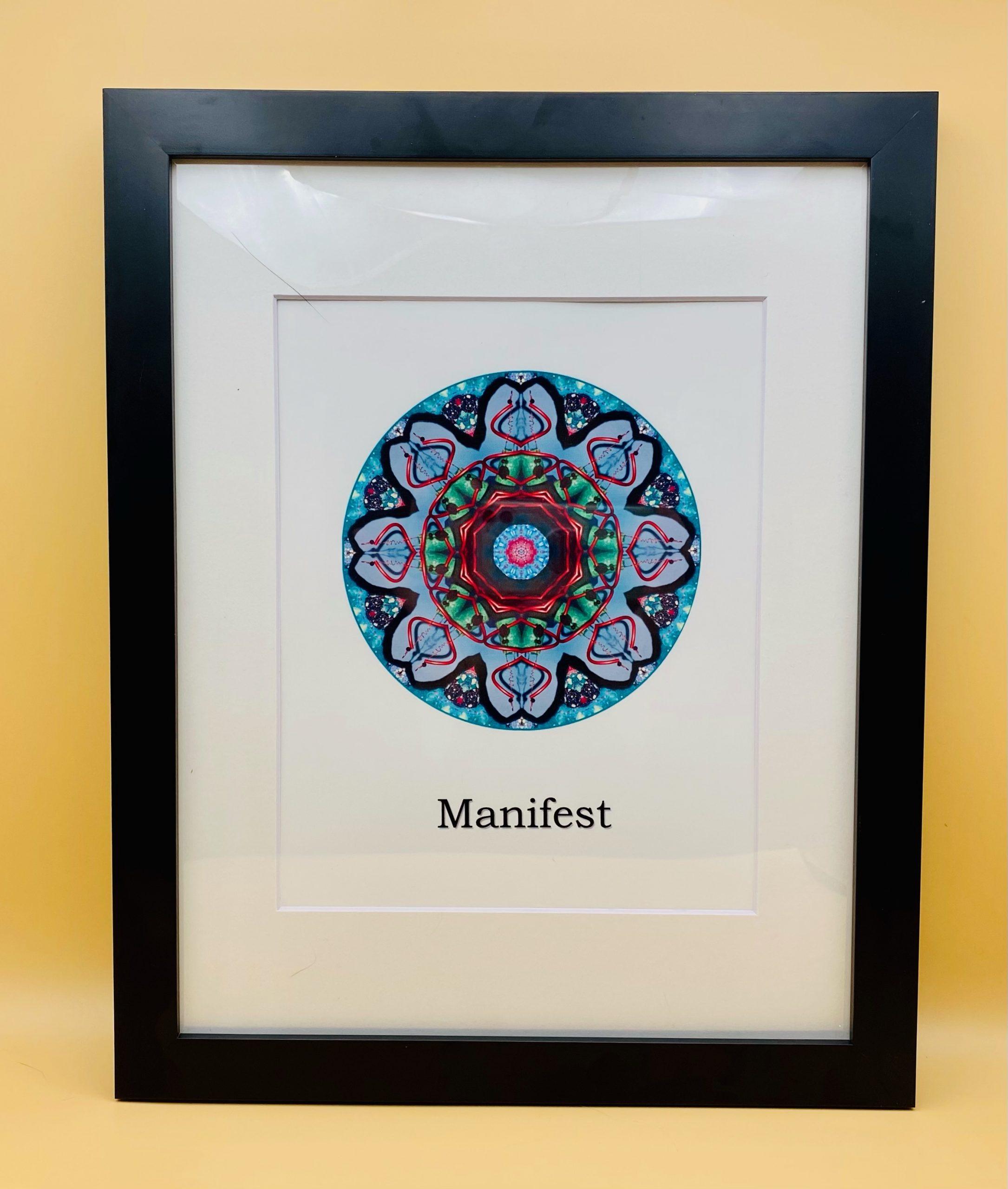 Manifest Mandala Framed Print
