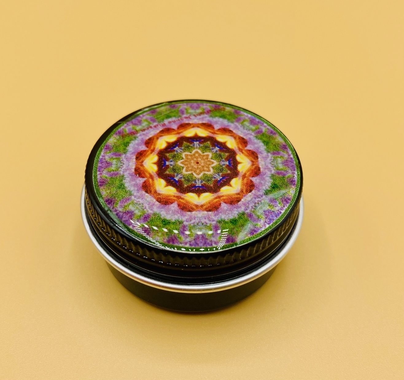 Prosperity Mandala Stash Box
