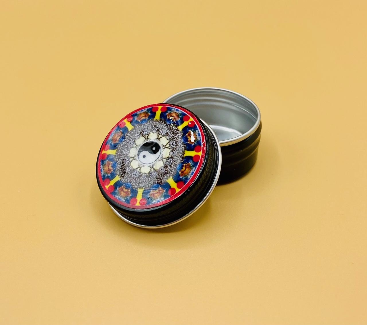 Health and Balance Mandala Stash Box