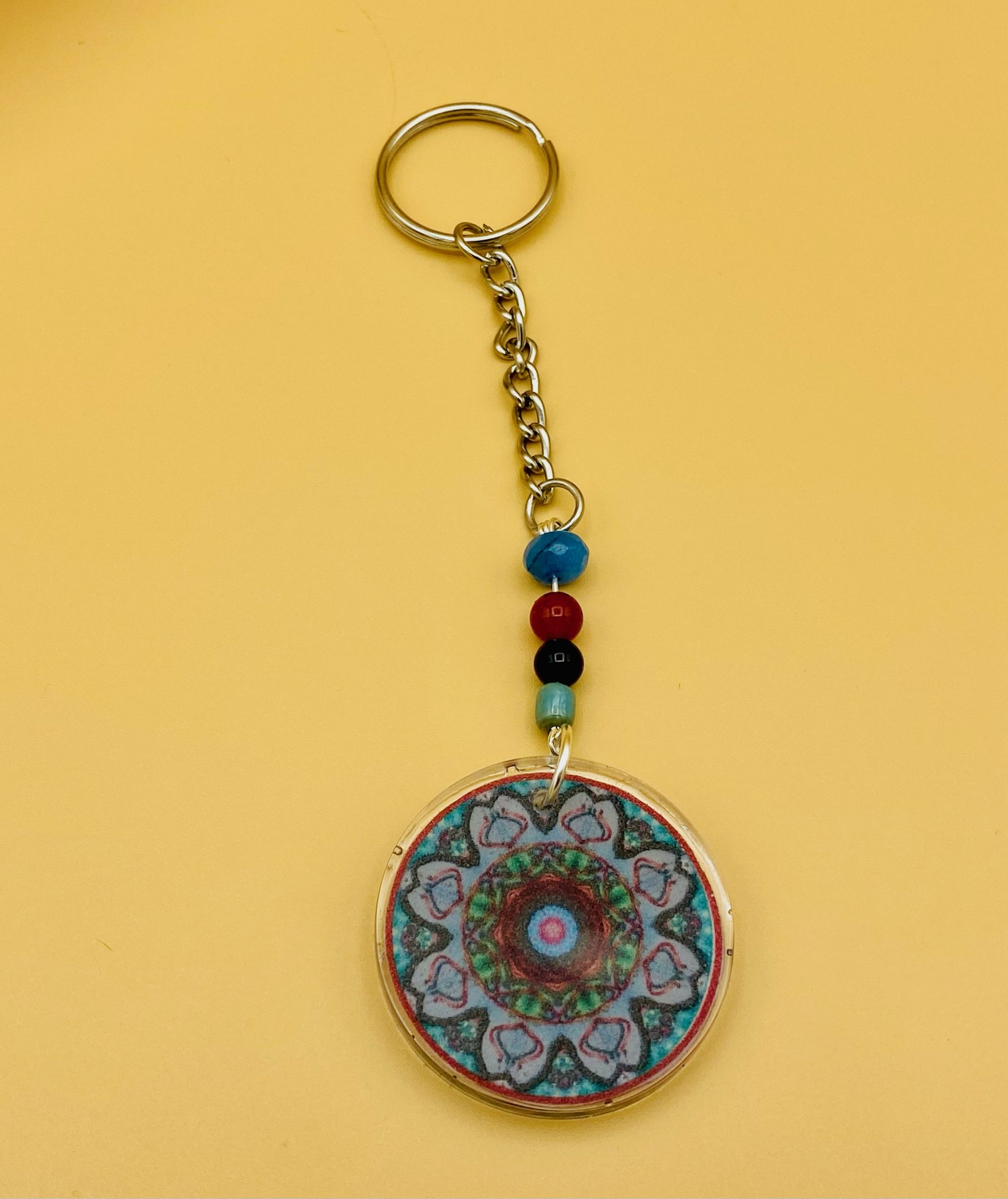 Manifest Mandala Keychain