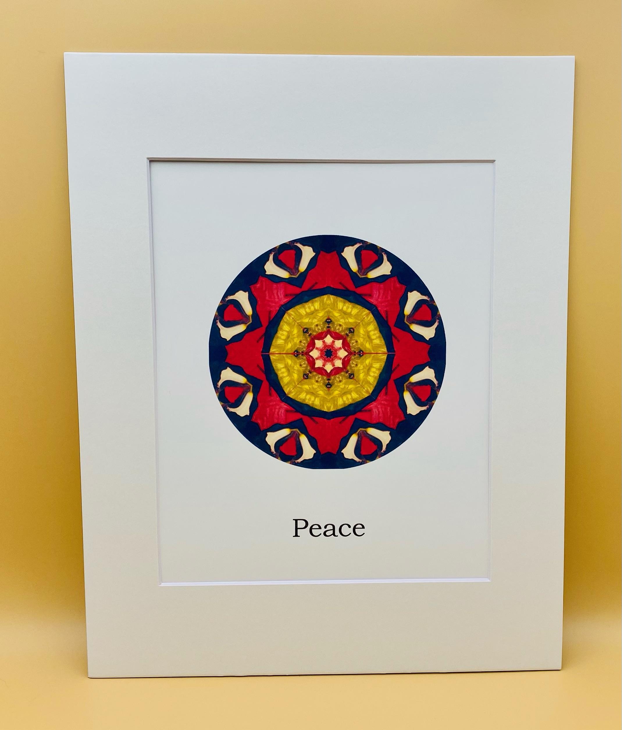 Peace Mandala Print