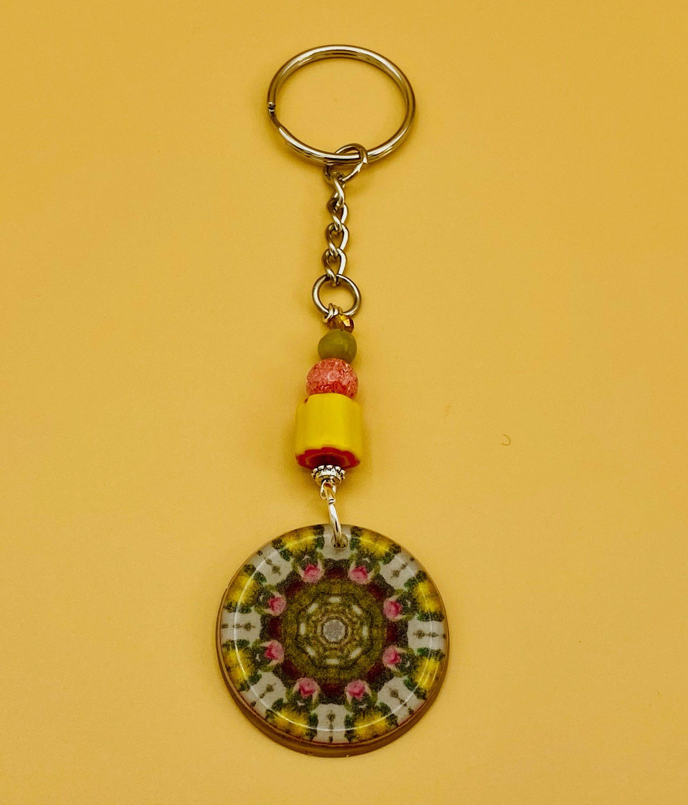 Serenity Mandala Keychain