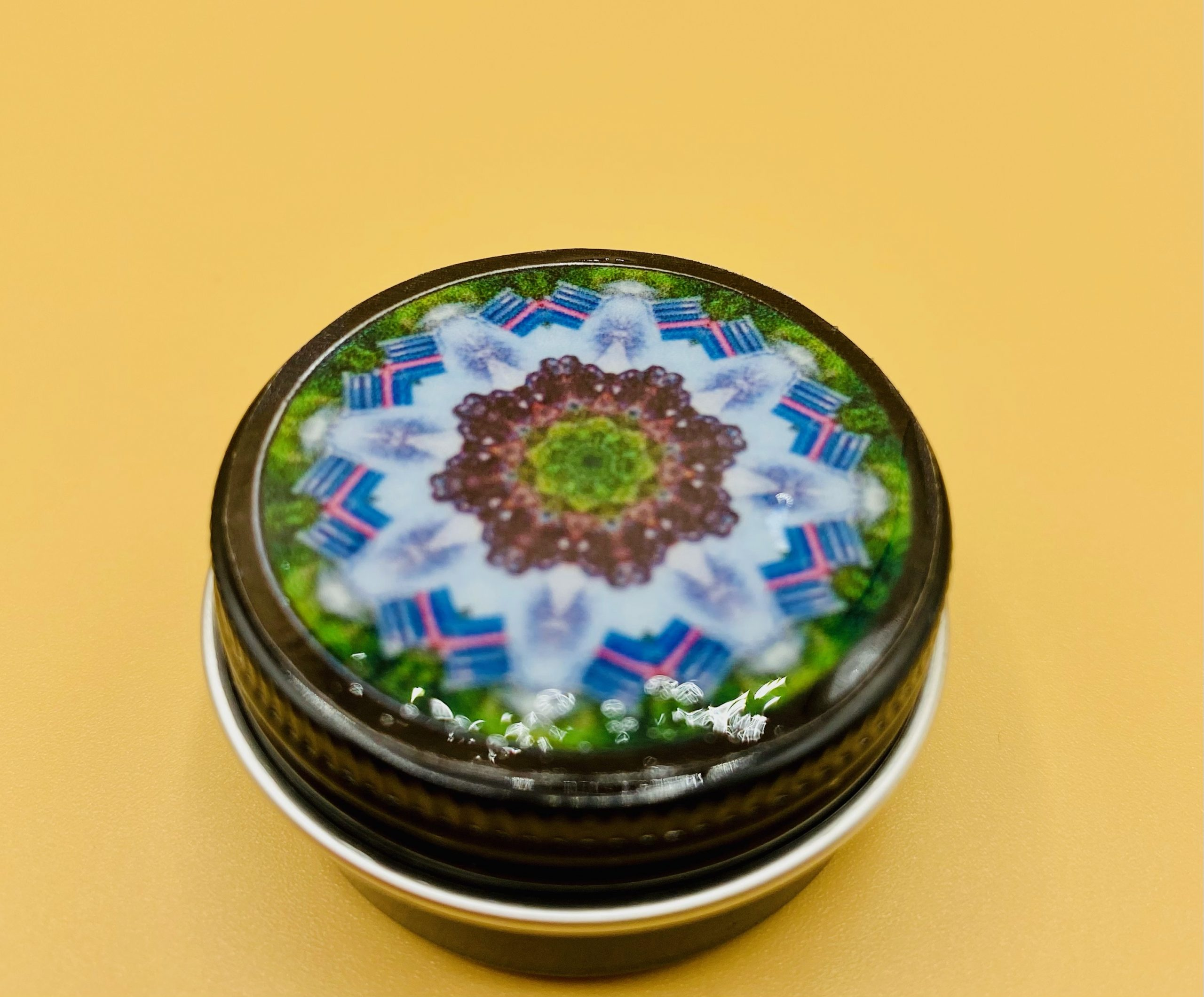 Wisdom Mandala Stash Box