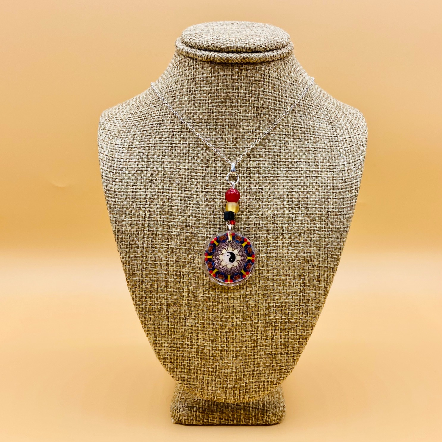 Health and Balance Mandala Necklace