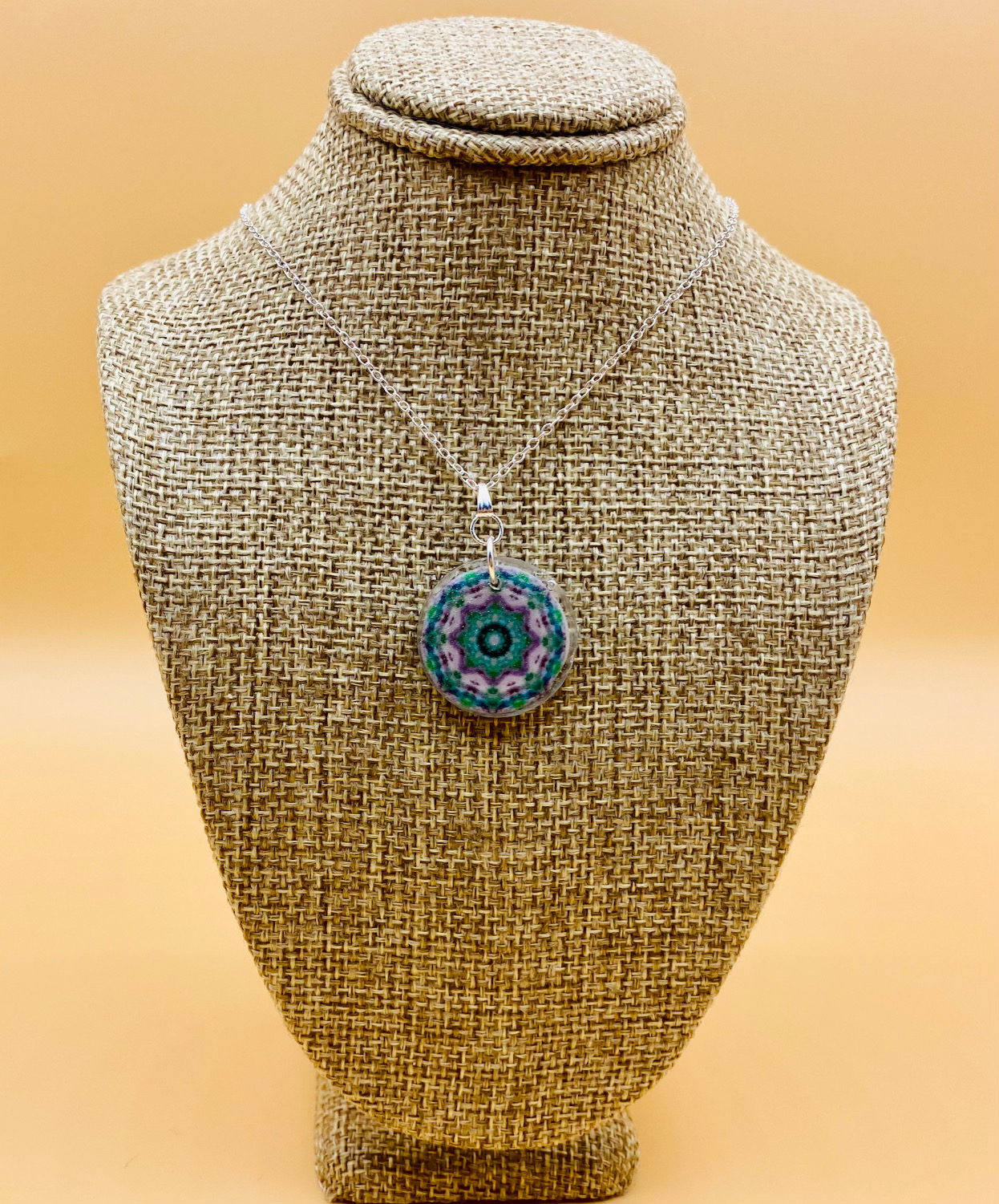 Meditate Mandala Necklace