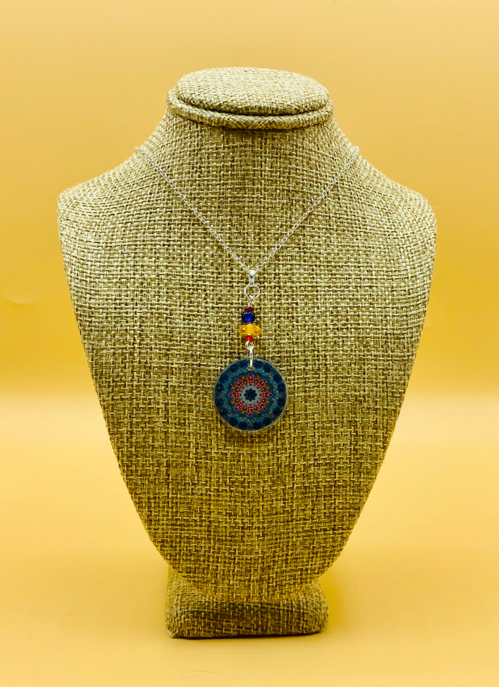 Protection Mandala Necklace