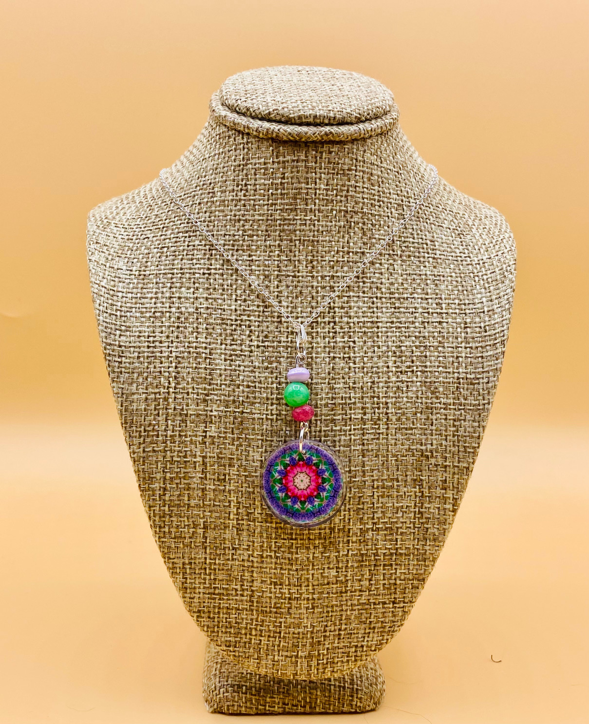 Family Mandala Necklace