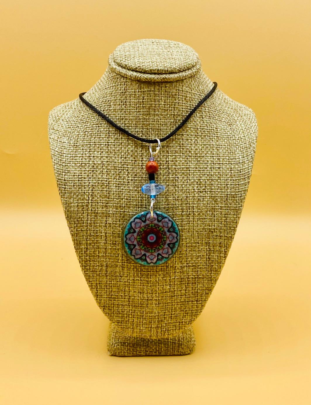 Manifest Mandala Pendant Necklace