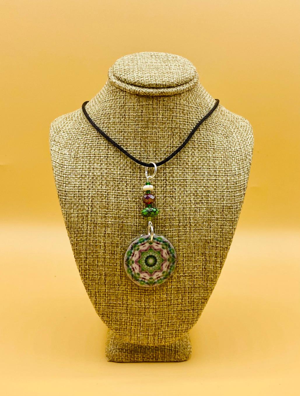 Meditate Mandala Pendant