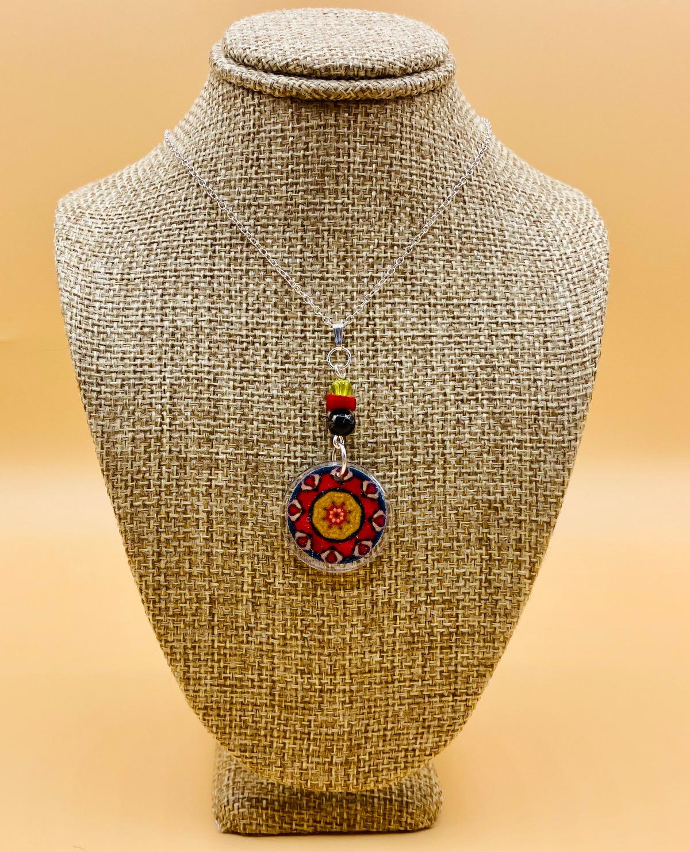 Peace Mandala Necklace