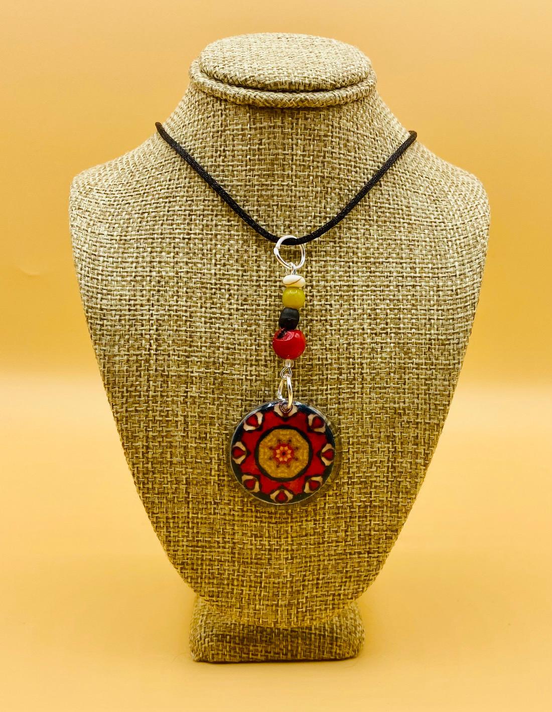 Peace Mandala Pendant