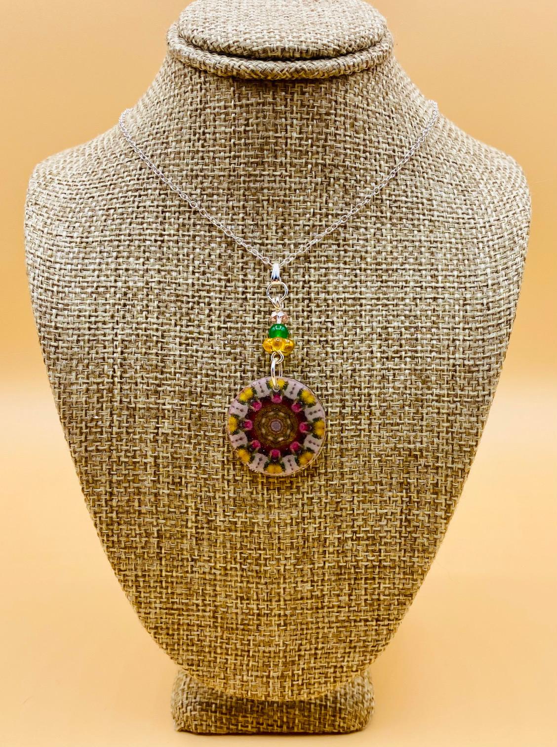 Serenity Mandala Necklace