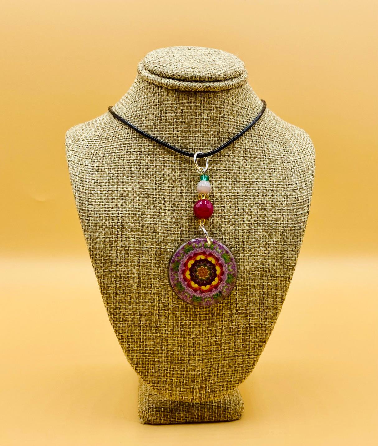 Prosperity Mandala Pendant