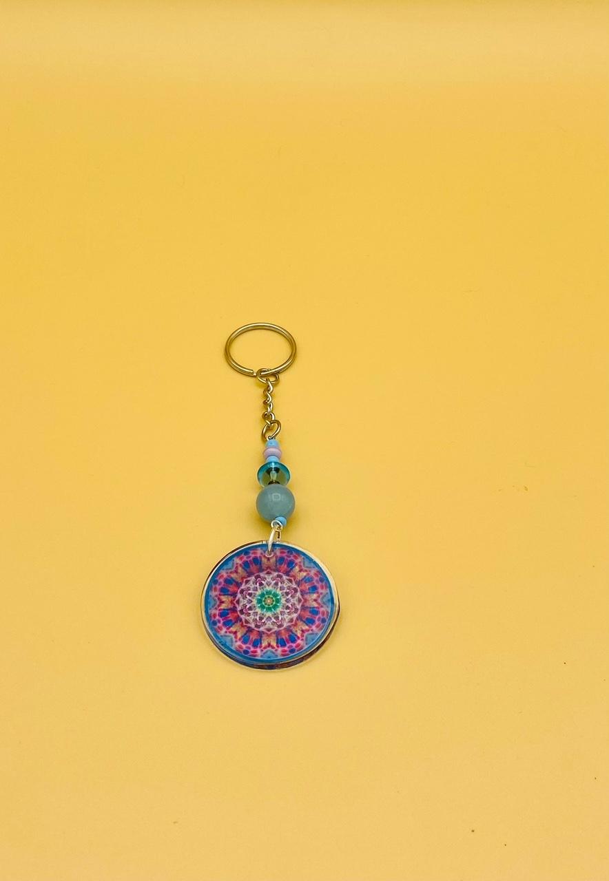 Creativity Mandala Keychain