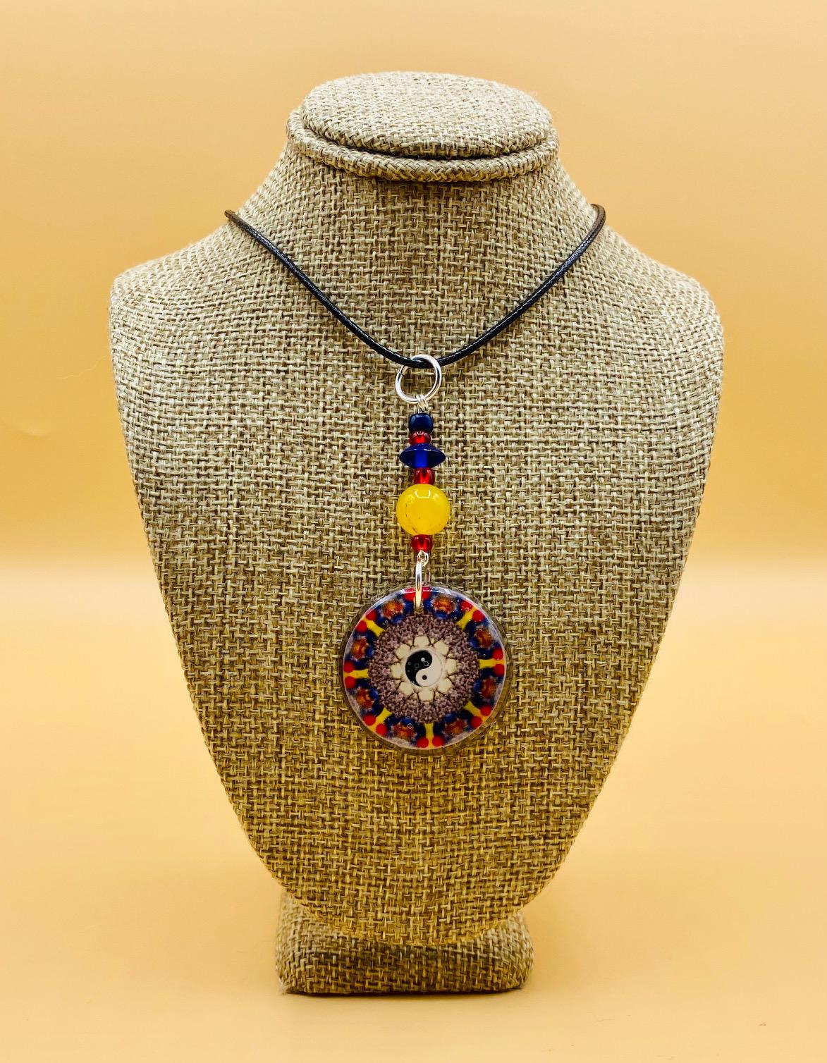 Health and Balance Mandala Pendant