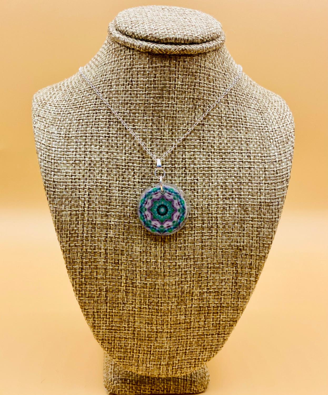 Meditate Mandala Necklace