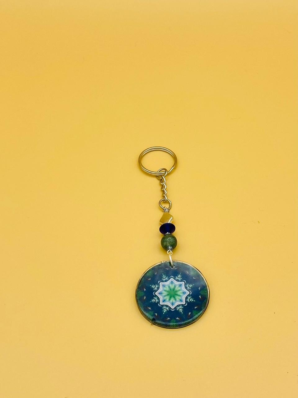 Success Mandala Keychain