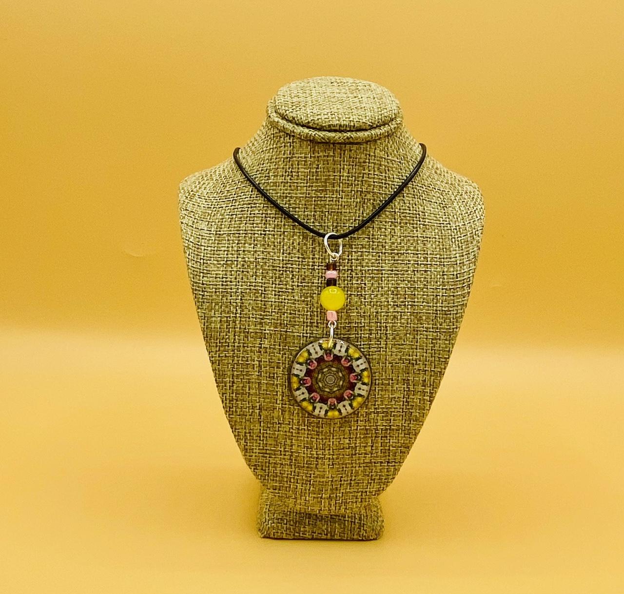 Serenity Mandala Pendant